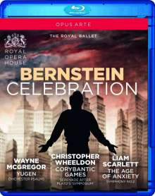 The Royal Ballet - Bernstein Celebration (3 Ballette), Blu-ray Disc