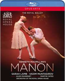 Kenneth MacMillans Manon, Blu-ray Disc