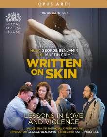 George Benjamin (geb. 1960): Written on Skin & Lessons in Love and Violence (2 Operngesamtaufnahmen), 2 Blu-ray Discs