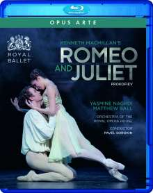 The Royal Ballet:Romeo and Juliet, Blu-ray Disc