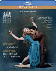 The Royal Ballet: The Cellist / Dances at a Gathering, Blu-ray Disc
