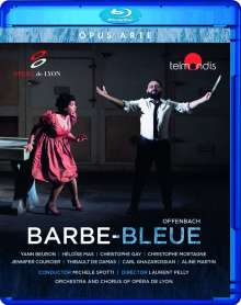 Jacques Offenbach (1819-1880): Barbe Bleue, Blu-ray Disc