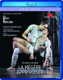 Les Ballets De Monte-Carlo - La Megere Apprivoisee (The Taming of The Shrew), Blu-ray Disc