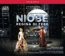 Agostino Steffani (1654-1728): Niobe, Regina Di Tebe, 3 CDs