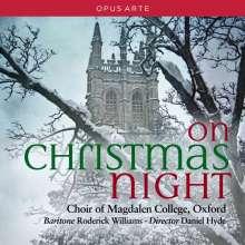 Magdalen College Choir Oxford - On Christmas Night, CD