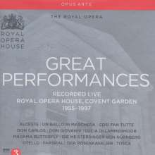 Great Performances (Operngesamtaufnahmen aus dem Royal Opera House), 32 CDs
