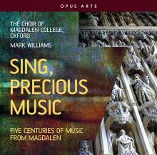 Magdalen College Choir Oxford - Sing, precious Music, CD