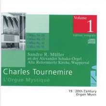 Charles Tournemire (1870-1939): L'Orgue Mystique Vol.1, CD