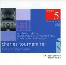 Charles Tournemire (1870-1939): L'Orgue Mystique Vol.5, CD