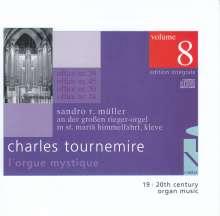 Charles Tournemire (1870-1939): L'Orgue Mystique Vol.8, CD