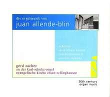 Juan Allende-Blin (geb. 1928): Orgelwerke, SACD