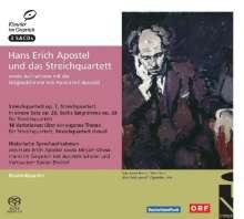 Hans-Erich Apostel (1901-1972): Hans Erich Apostel und das Streichquartett, 3 SACDs