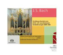 Johann Sebastian Bach (1685-1750): Goldberg-Variationen BWV 988 für Orgel, Super Audio CD