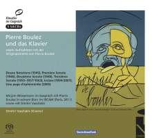 """Pierre Boulez (1925-2016): Klavierwerke """"Pierre Boulez und das Klavier"""", 3 Super Audio CDs"""