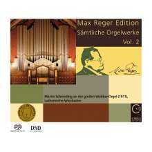 Max Reger (1873-1916): Sämtliche Orgelwerke Vol.2, Super Audio CD