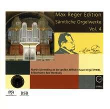 Max Reger (1873-1916): Sämtliche Orgelwerke Vol.4, SACD