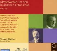 Klavierwerke um den Russischen Futurismus, 4 SACDs