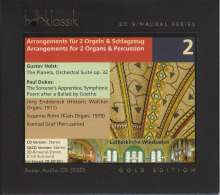 Gustav Holst (1874-1934): The Planets op.32 für 2 Orgeln & Percussion, Super Audio CD