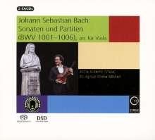 Johann Sebastian Bach (1685-1750): Sonaten & Partiten für Viola, 2 Super Audio CDs