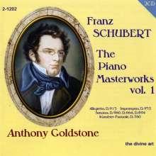 Franz Schubert (1797-1828): Klavierwerke Vol.1, 2 CDs