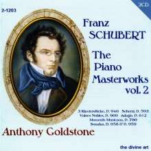 Franz Schubert (1797-1828): Klavierwerke Vol.2, 2 CDs