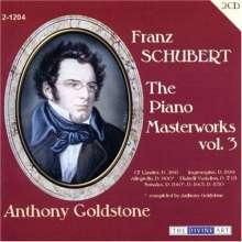 Franz Schubert (1797-1828): Klavierwerke Vol.3, 2 CDs