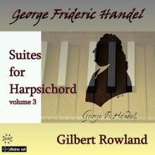 Georg Friedrich Händel (1685-1759): Cembalosuiten Vol.3, 2 CDs