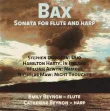 Arnold Bax (1883-1953): Sonate für Flöte & Harfe, CD