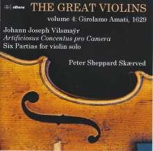 Peter Sheppard Skaerved - The Great Violins Vol.4: Girolamo Amati 1629, CD