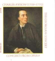 Charles Avison (1709-1770): Concerti op.9 Nr.1,4,6-9, CD