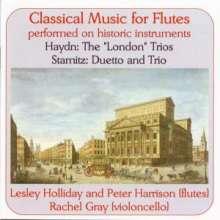 """Joseph Haydn (1732-1809): Flötentrios H4 Nr.1-4 """"Londoner"""", CD"""
