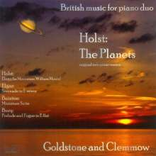 Goldstone & Clemmow - British Music for Piano Duo, CD