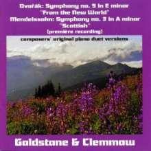 Antonin Dvorak (1841-1904): Symphonie Nr.9 für Klavier 4-händig, CD