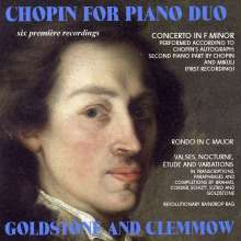 Goldstone & Clemmow - Chopin for Piano Duo, CD