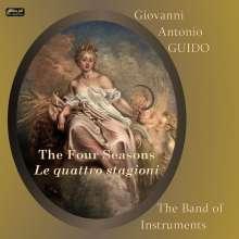"""Giovanni Antonio Guido (1675-1728): Concerti Nr.1-4 """"Le Quattro Stagioni"""", CD"""