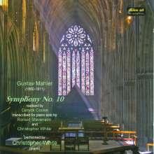 Gustav Mahler (1860-1911): Symphonie Nr.10 (Fassung nach Cooke) für Klavier, CD