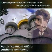 Russian Piano Music Vol.3, CD
