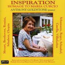 Anthony Goldstone - Inspiration (Homage to Maria Curcio), CD