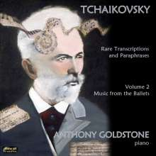 Anthony Goldstone - Tschaikowsky: Rare Transcriptions & Paraphrases Vol.2, CD