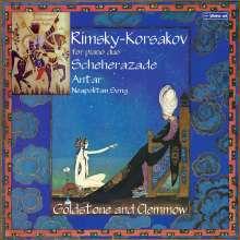 Nikolai Rimsky-Korssakoff (1844-1908): Scheherazade op.35 für Klavier 4-händig, CD