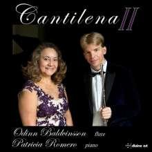 Odinn Baldvinsson & Patricia Romero - Cantilena II, CD
