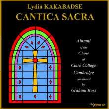 """Lydia Kakabadse (geb. 1955): Geistliche Chorwerke """"Cantica Sacra"""", CD"""