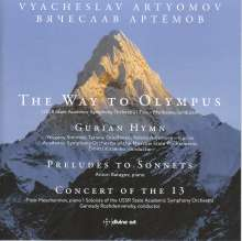 "Vyacheslav Artyomov (geb. 1940): Symphonie ""The Way to Olympus"", CD"