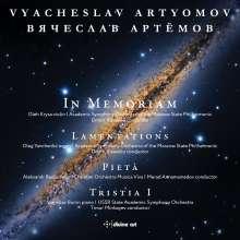 Vyacheslav Artyomov (geb. 1940): In Memoriam für Violine & Orchester, CD