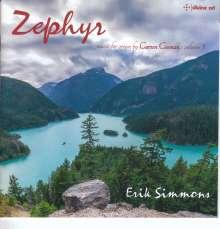 "Carson Cooman (geb. 1982): Orgelwerke ""Zephyr"", CD"