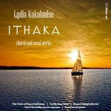 "Lydia Kakabadse (geb. 1955): Lieder & Chorwerke ""Ithaka"", CD"