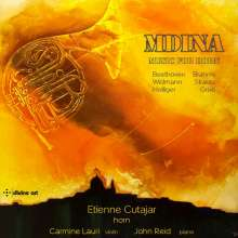 "Etienne Cutajar - Music for Horn ""Mdina"", CD"