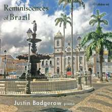 Justin Badgerov - Reminiscences of Brazil, CD