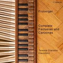 Johann Jacob Froberger (1616-1667): Sämtliche Fantasien & Canzonen für Clavichord, CD
