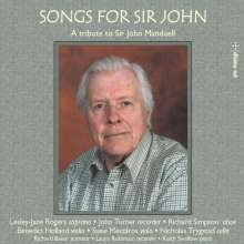 Lesley-Jane Rogers - Songs For Sir John, CD